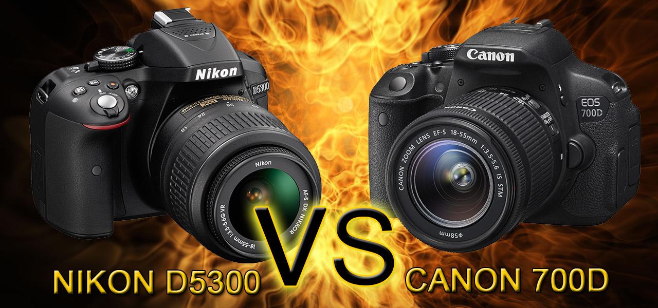 Что выбрать nikon d5300 vs canon 700d