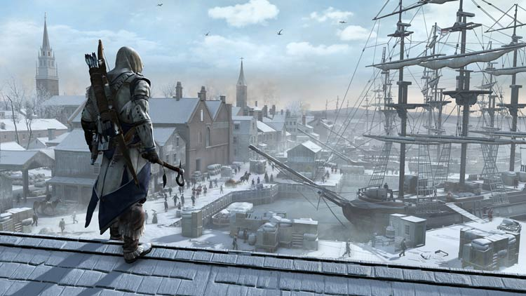 Просторы Assassin's Creed III