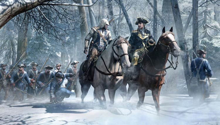 реалистичность Assassin's Creed III