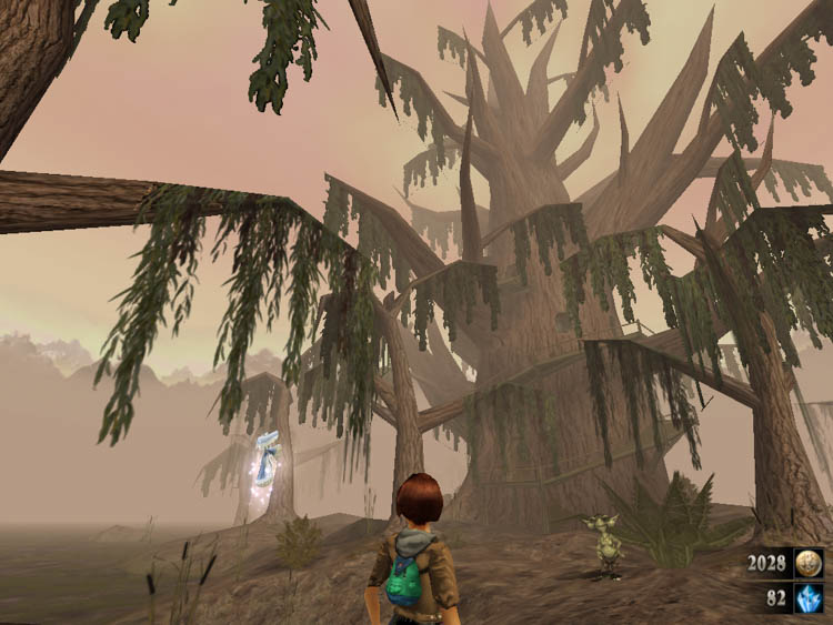 zanzarah большое дерево