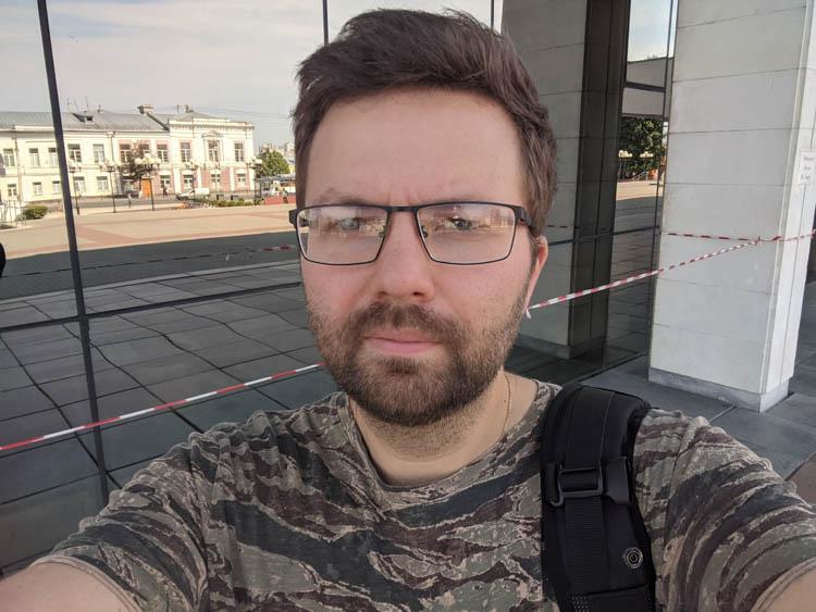 google pixel 2 тест резкости селфи камера