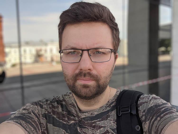 google pixel 2 тест портретного режима селфи